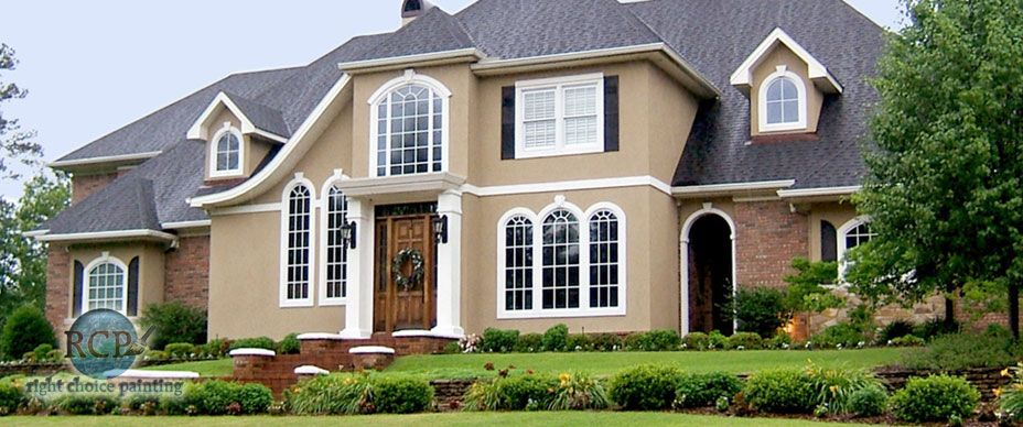 Brick and stucco homes on pinterest stucco homes homes for Stucco colors for houses exterior