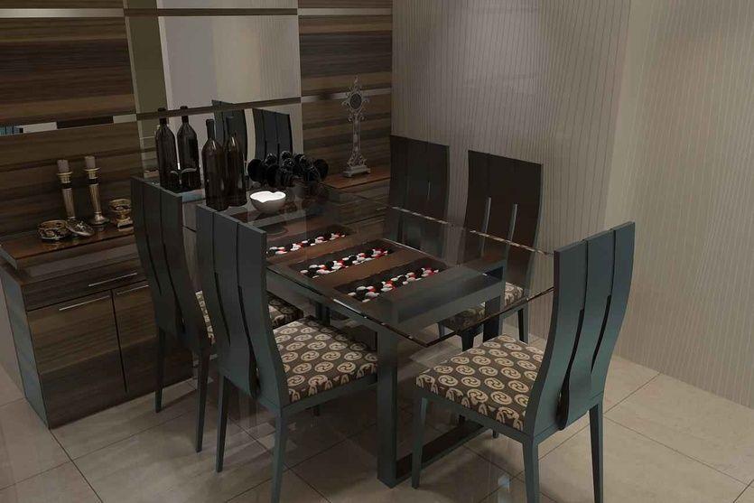 Dining Room design by Mahendra Jadeja, Interior Designer in Navi mumbai, Maharashtra, India