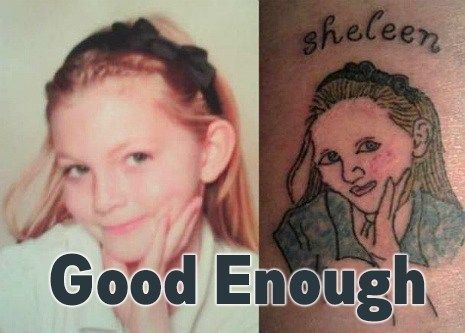 Terrible tattoos on pinterest tattoo fails face tattoos for Worst place to get a tattoo