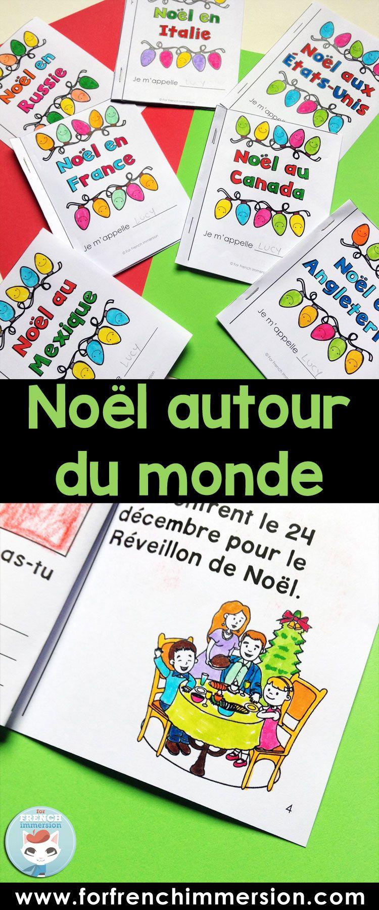Nol autour du monde Christmas around the world French resource