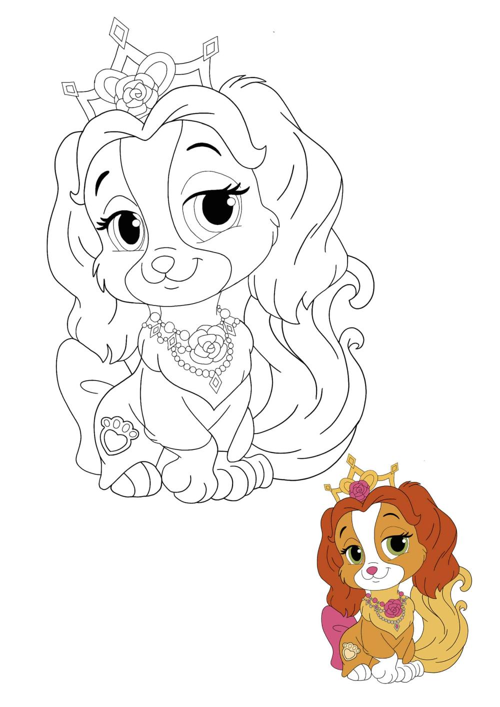 Disney Princess Palace Pets Teacup Coloring Pages 2 Free Coloring Sheets 2020 In 2020 Princess Palace Pets Princess Coloring Pages Disney Princess Palace Pets