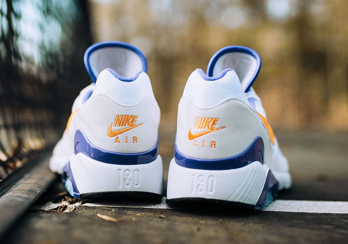 differently 07c42 3fc06 Nike Air Max 180 Bright Ceramic-Dark Concord