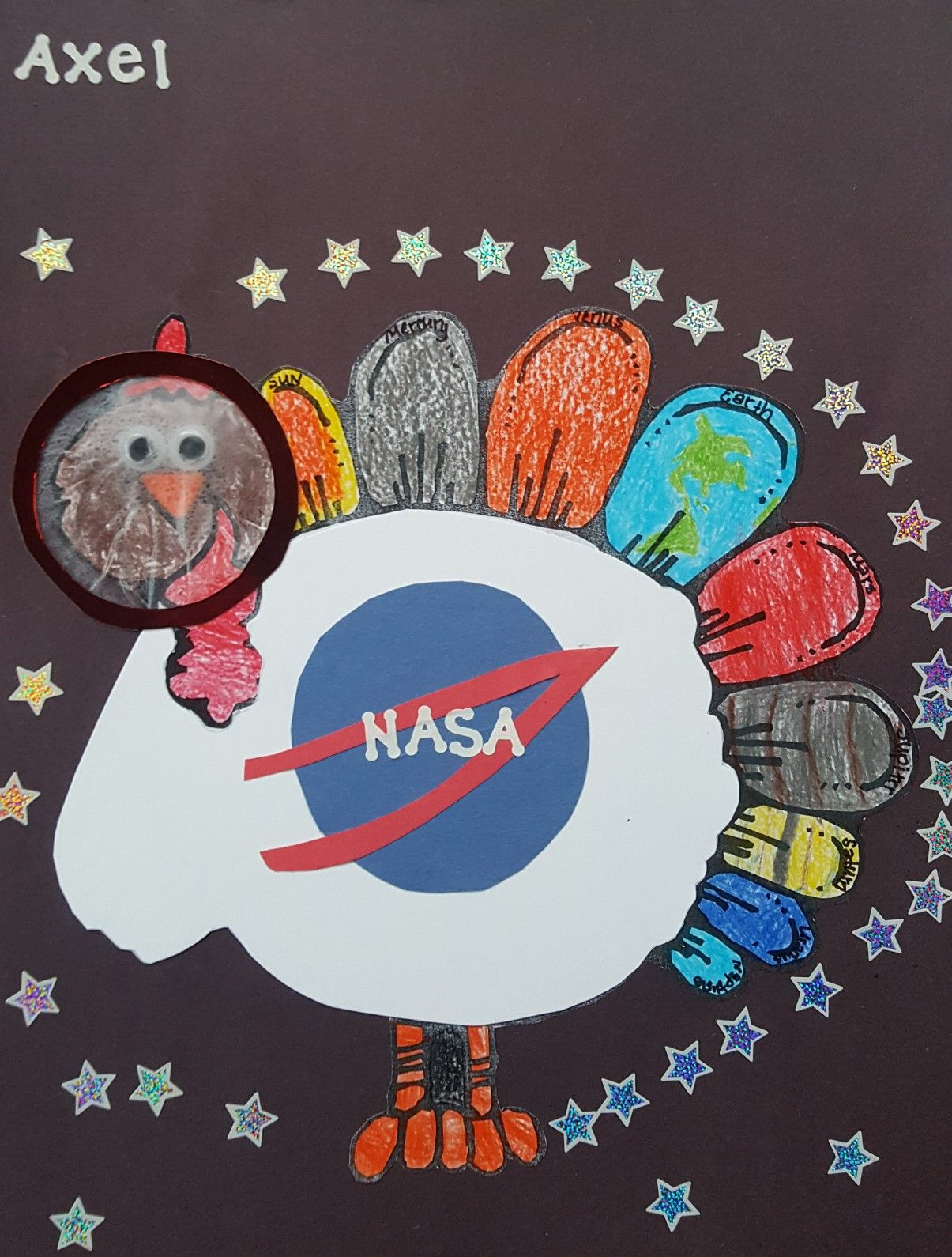 Tom The Turkey Is Now Axel The Astronaut Disguiseaturkey