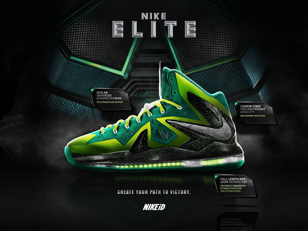 low priced 24cd9 a631b ... Live on Nike iD LeBron X P.S. Elite ...