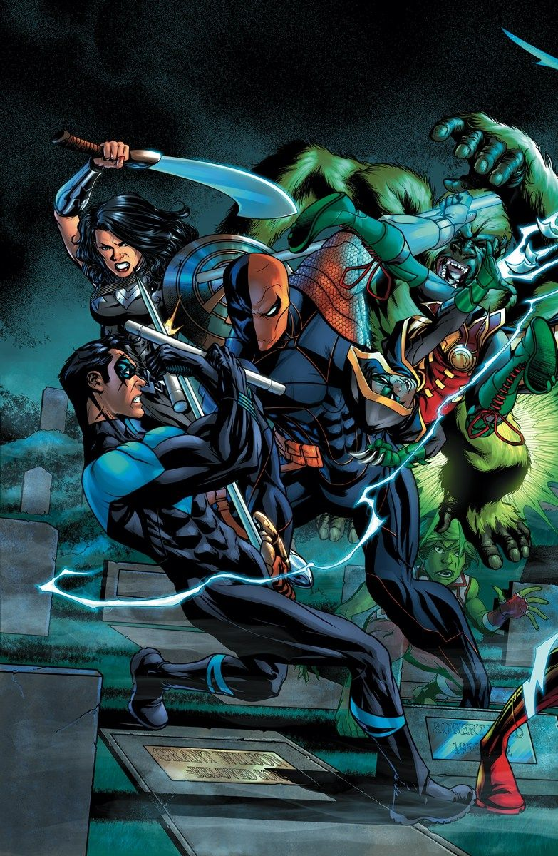 Titans #11 Written By Dan Abnett, Benjamin Percy And Christopher Priest Art  By Brett