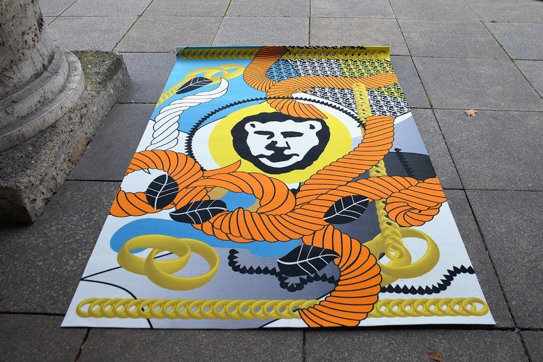 Bureau Mirko Borsche – Super Thek Exhibition Design for Super Paper, Haus der Kunst, Munich