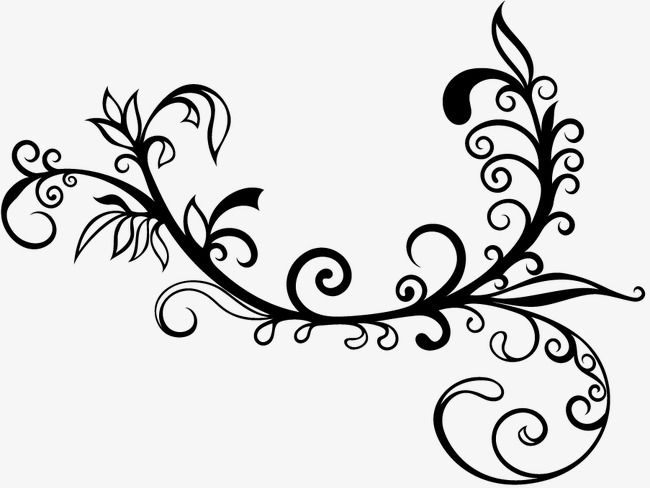 زخارف نباتية زخارف نباتية أسود زخرفة Png وملف Psd للتحميل مجانا Flower Background Design Arabic Calligraphy Art Calligraphy Art