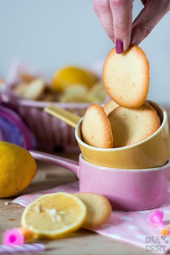 Feine Azora Zitronenkekse - Ina Isst