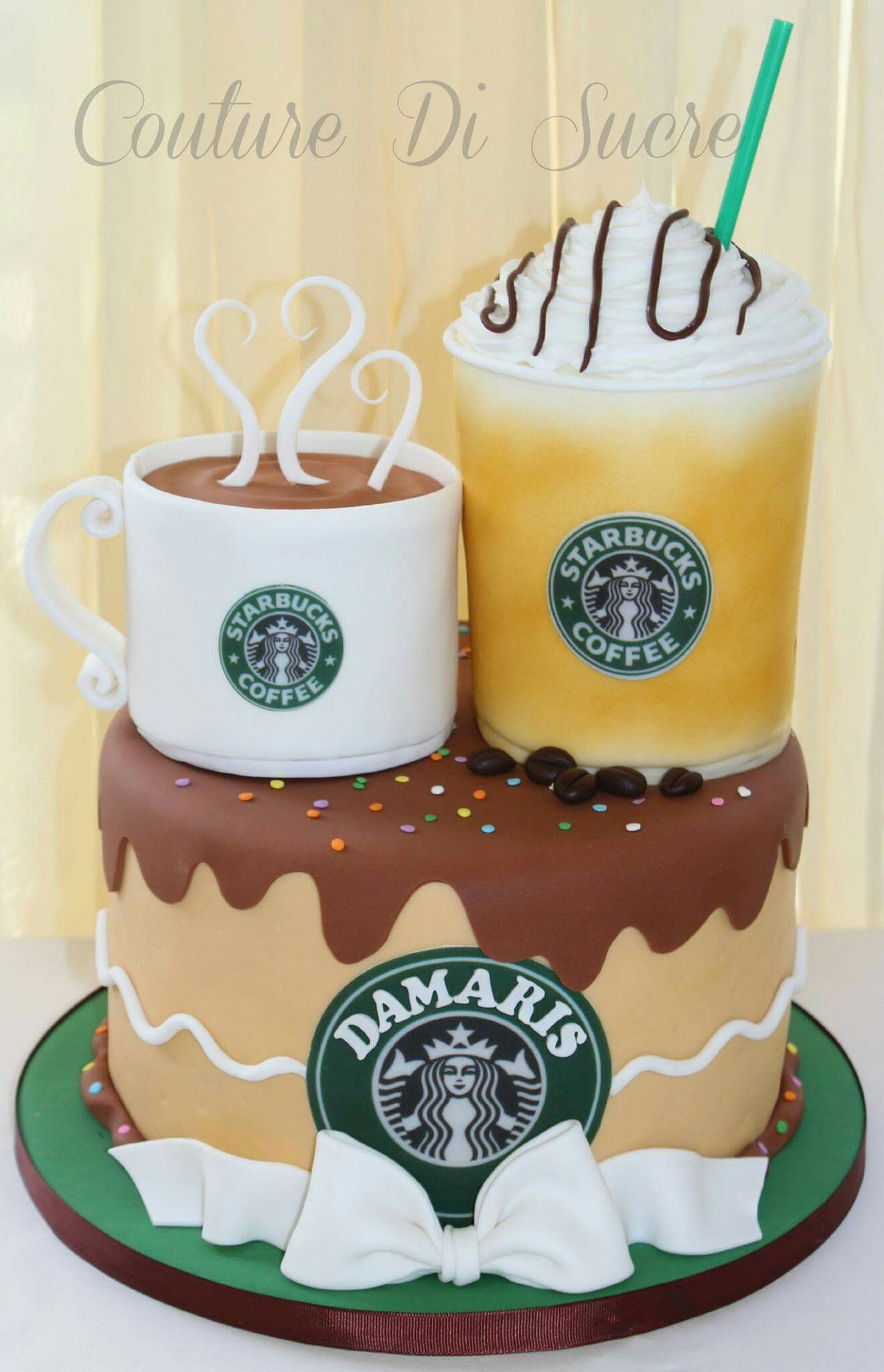 Bizcocho starbucks cake crazy cakes novelty cakes