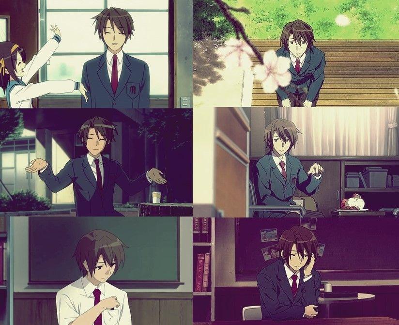Anime The Melancholy of Haruhi Suzumiya Poster Group High Grade Glossy Laminated