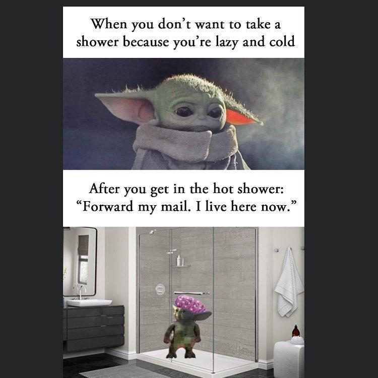 Baby Yoda It Memes On Instagram Double Tap Dm For Promos Follow Babyyodaitmemes Yoda Funny Yoda Meme Star Wars Memes