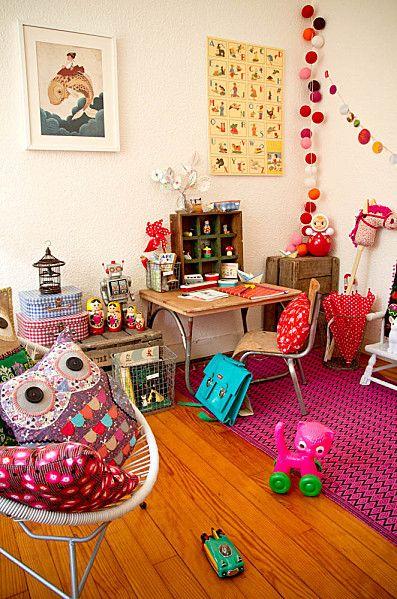 Kids room chambre d 39 enfant color e chambres d 39 enfants kids rooms pinterest chambre - Chambre enfant coloree ...