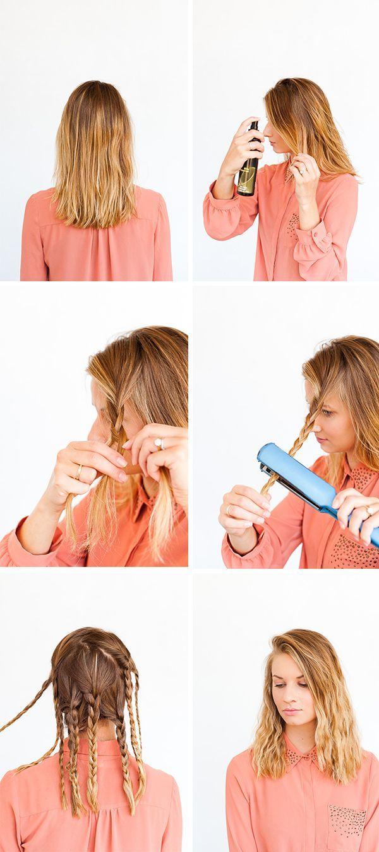 Making Waves Hair Hack Easy Waves In 10 Minutes Or Less Hair
