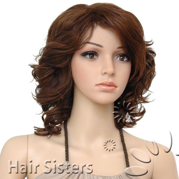 Romance Curl Wig | IT'S A CAP WEAVE 100% HUMAN HAIR WIG ROMANCE CURL