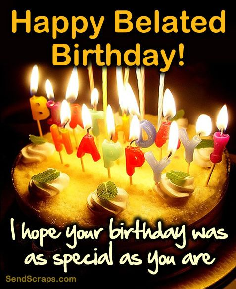 Special Birthday Free Happy Images Late Wish By Mannu