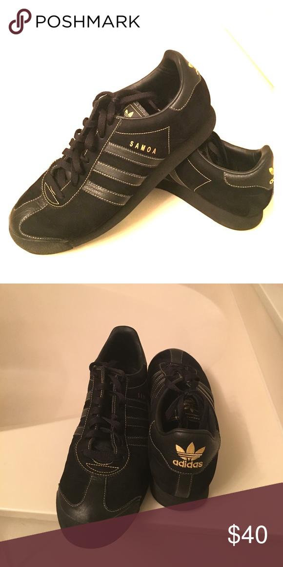 adidas samoa nero / oro uomini neri / oro adidas samoa dimensioni