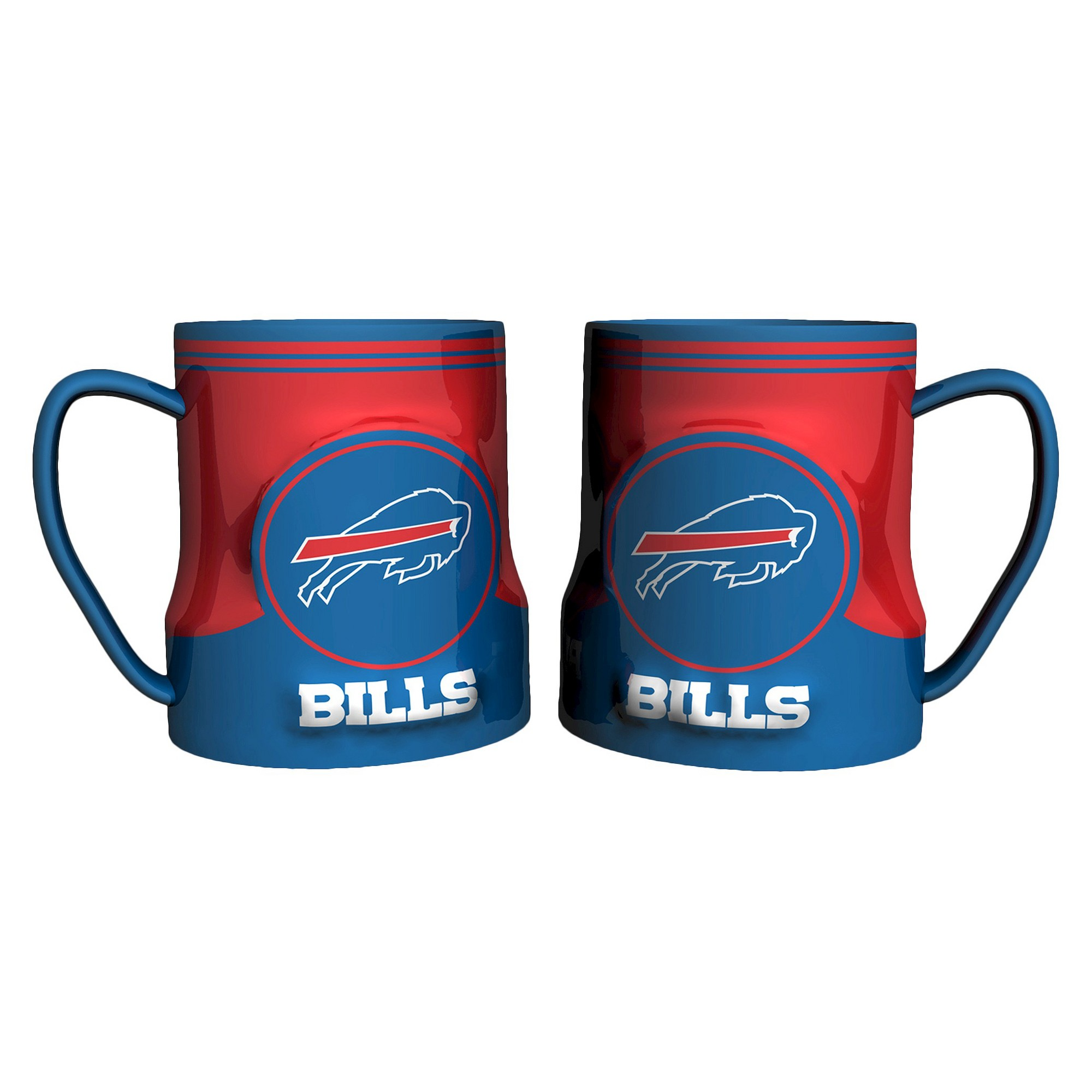NFL Boelter Brands 2 Pack Game Time Mug 20 oz Buffalo
