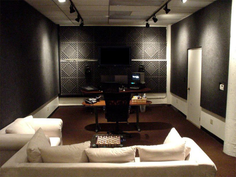 Sound Silencer Wall Panels Home Home Theater Rooms Music Studio Room
