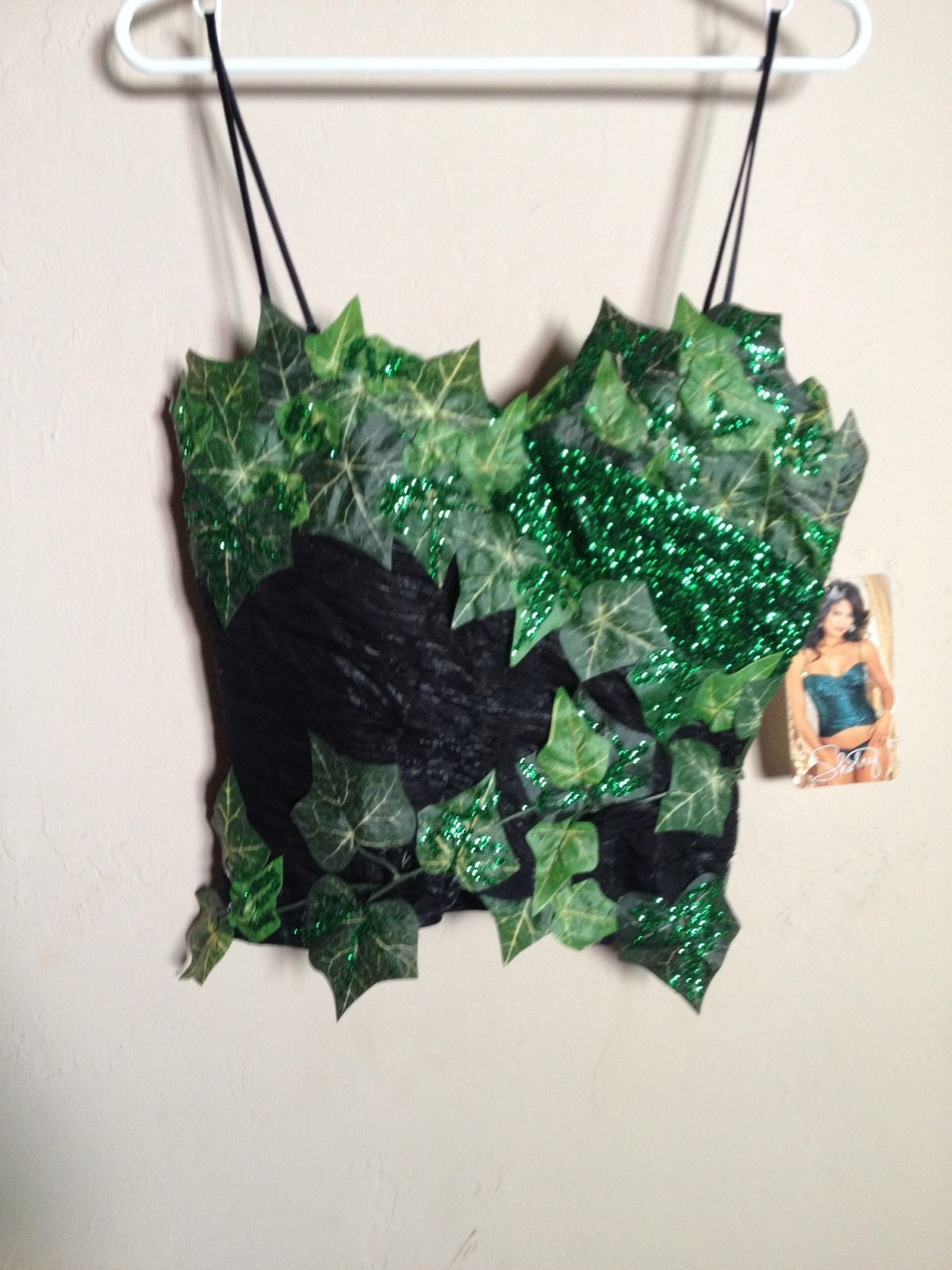 Poison IVY Sexy Corset Halloween Costume SZ Small 34 Bust ...