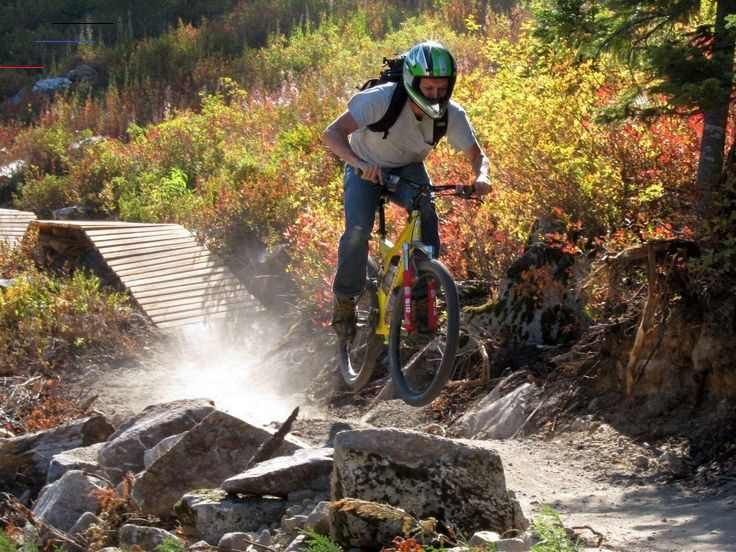 PocketFullOfGrace.com #action #activity #adventure #bicycle #bike park #challenges #cycling #fitness...