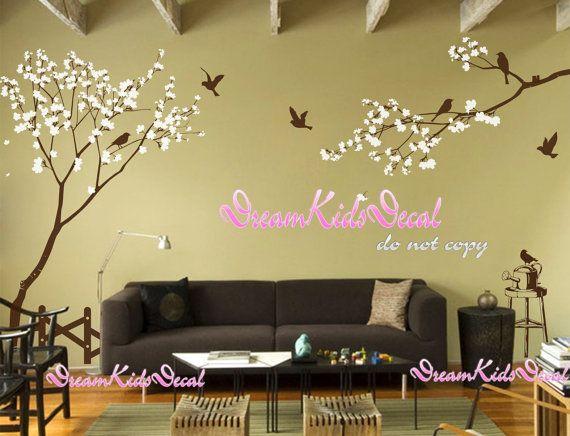 Wall Decal Nursery Wall Sticker Birds by DreamKidsDecal on Etsy ...