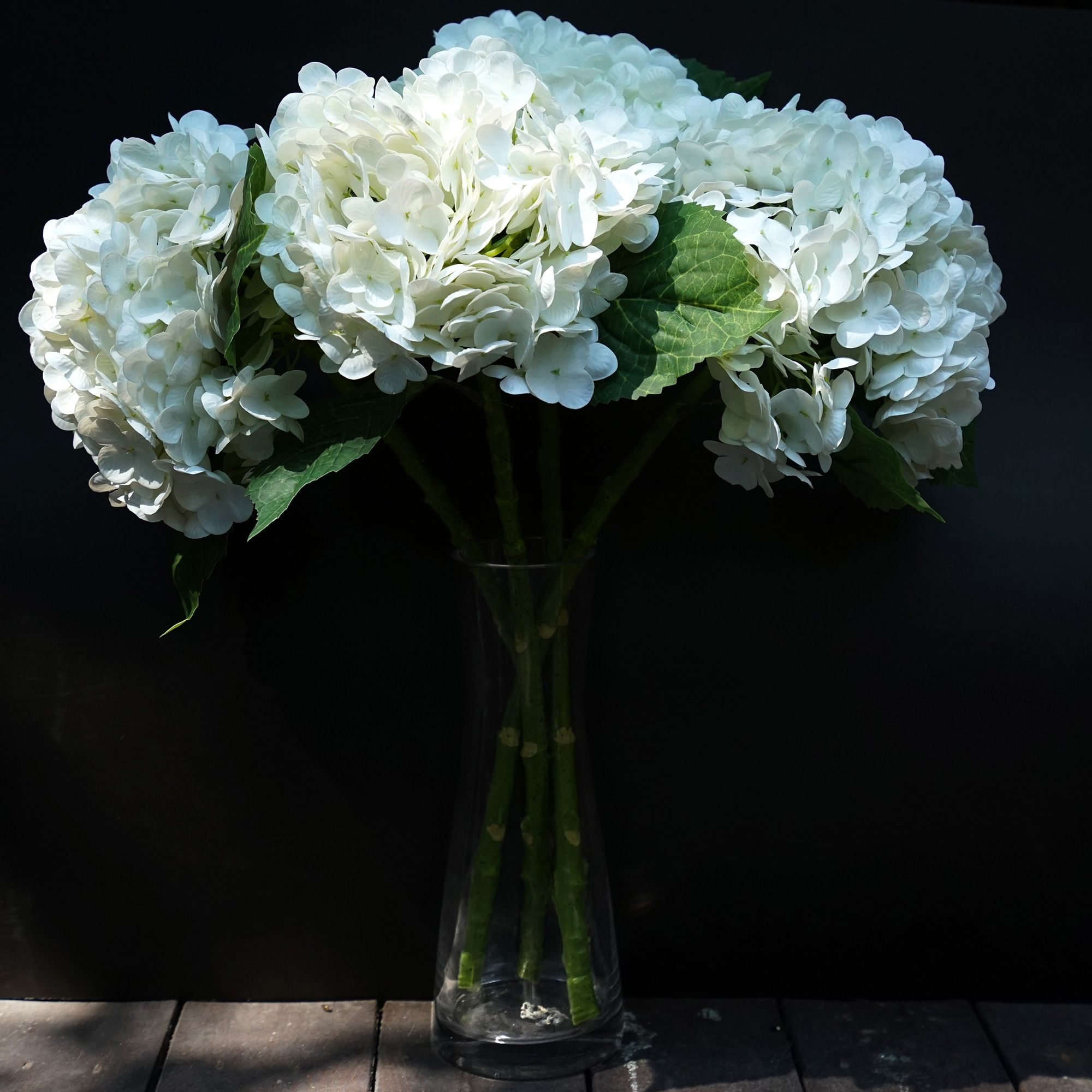 Fiveseasonstuff 2 Stems Real Touch Petals And Leaves Artificial Hydrangea Flowers Long Stem Floral Arrangement For Wedding Bridal Party Home Decor Diy Floral In 2020 Artificial Hydrangea Flowers Hydrangea Flower Artificial Hydrangeas