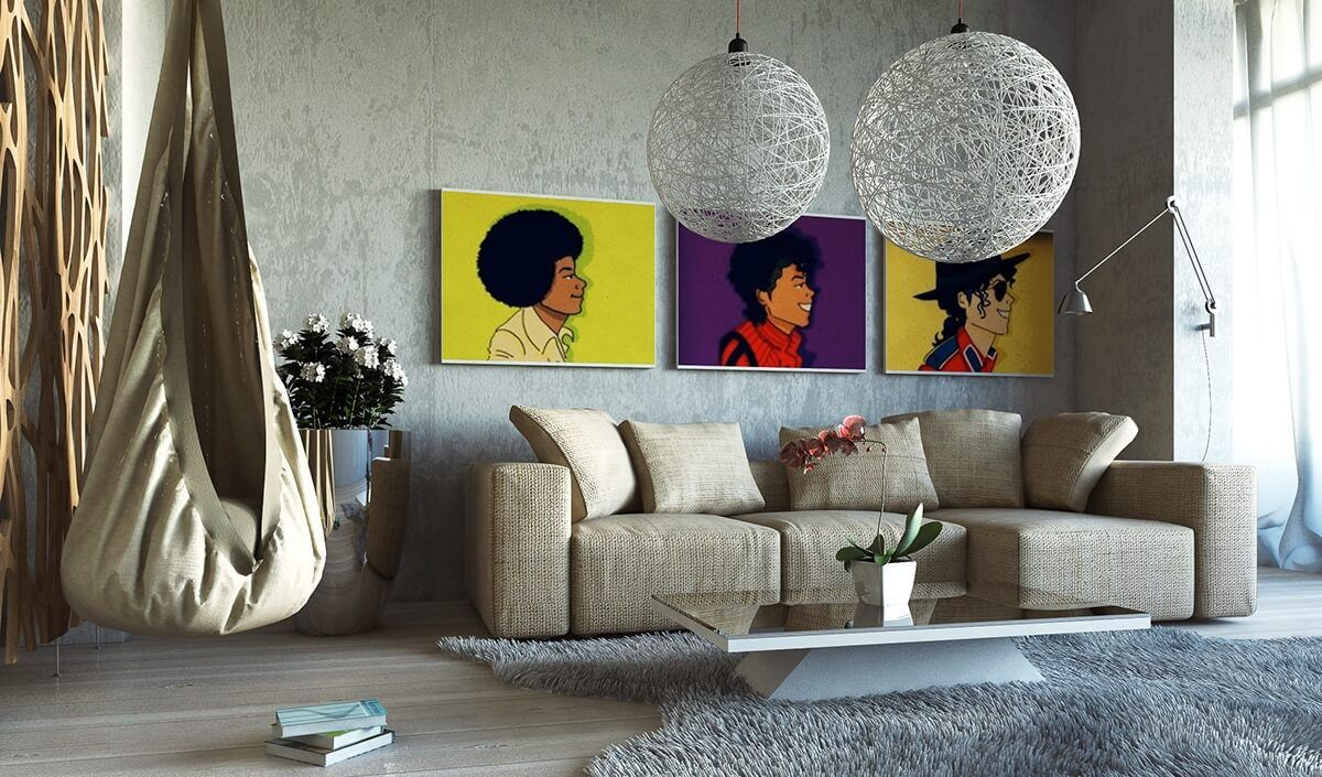 Out Of The Box Pop Art Interior Design Ideas Wall Decor Living Room Living Room Art Wall Art Living Room