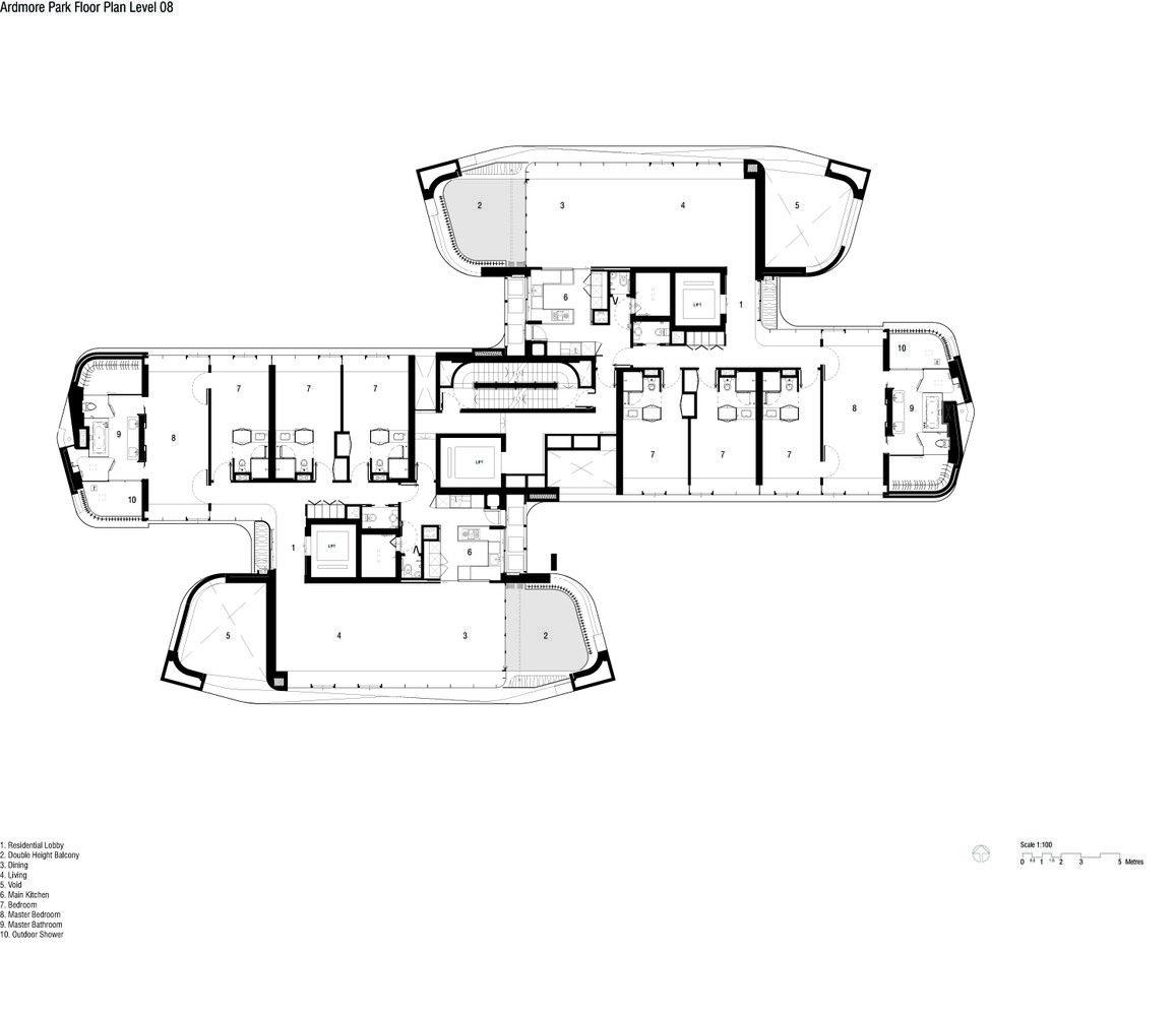 Galeria De Residencia Ardmore Unstudio