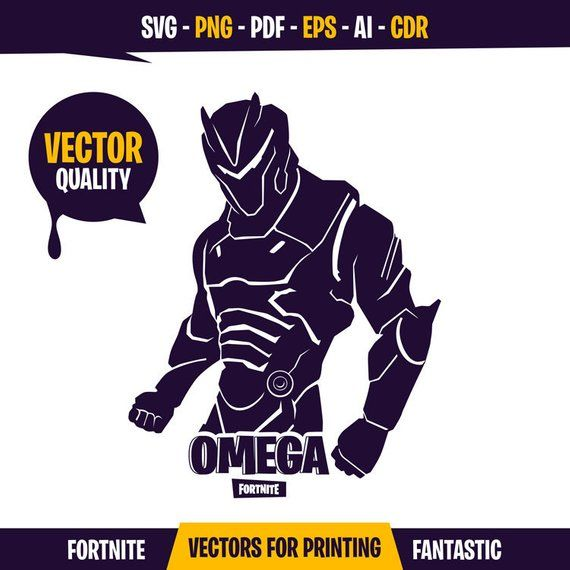 Fortnite Omega Omega Svg Fortnite Svg Fortnite Printable Fortnite Shirt Fortnite Silhouette Fo