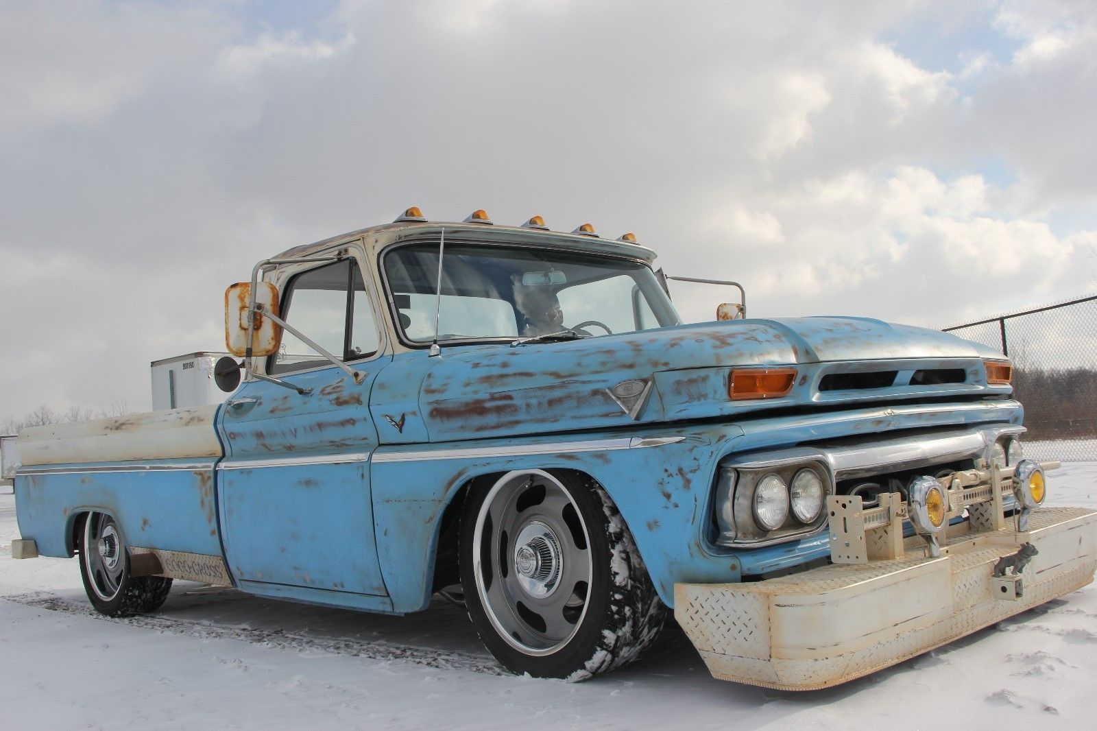 Restomod With Patina 1965 Gmc Custom Truck With Images Custom