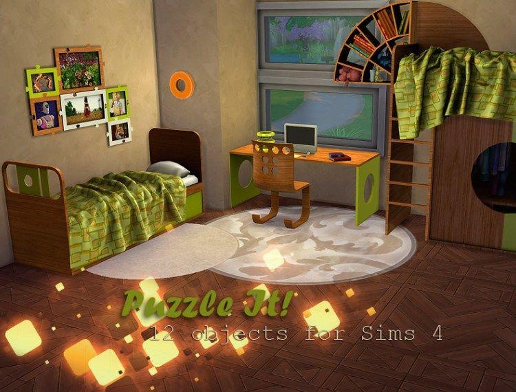Palmyra Kids Room The Sims 4 Catalog In 2020 Kids Bedroom Sets Bedroom Set Sims 4 Bedroom