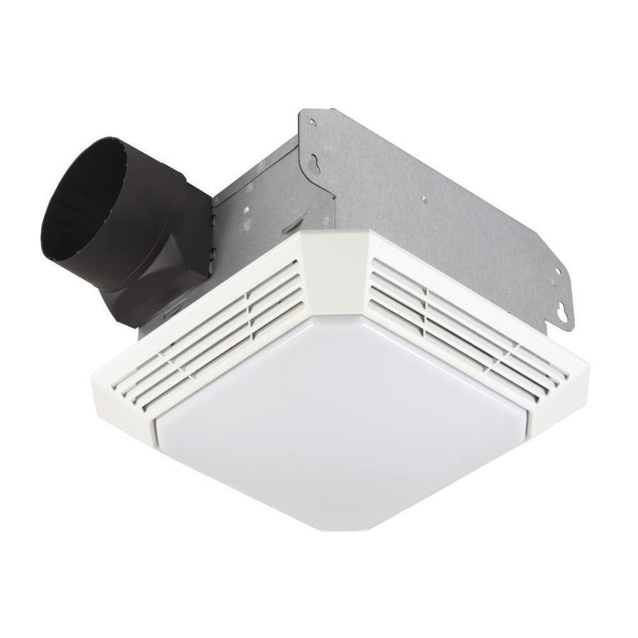 Broan 3 5 Sone 70 Cfm White Bathroom Fan Bathroom Fan Light Mold In Bathroom Bathroom Exhaust Fan