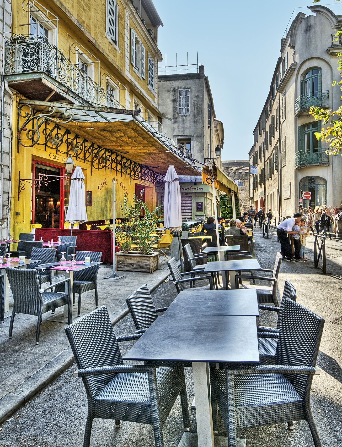 "The ""Café Van Gogh"" Terrace on the Place du Forum Arles"