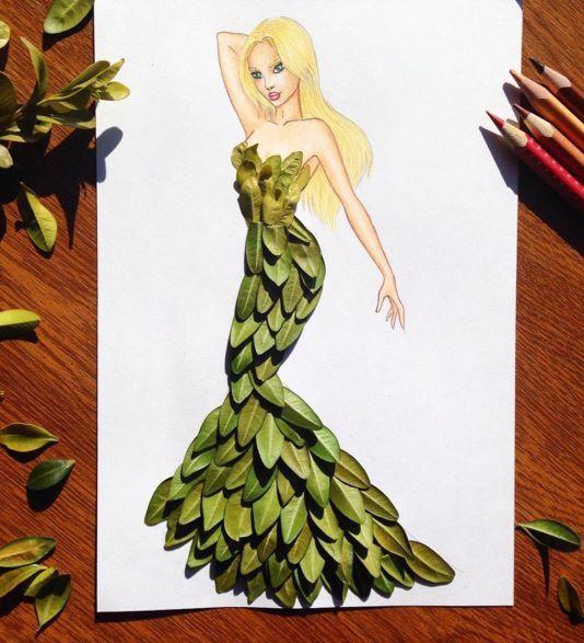 Epingle Par Liza Escobar Sur Gcse Clothing Dessins Design De Mode Illustration De Mode Art Et Illustration