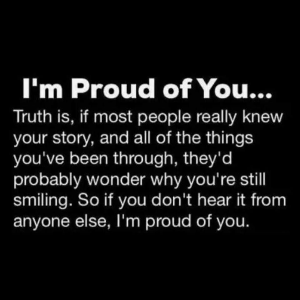 I AM SO PROUD OF YOU! | Proud mom quotes, Proud quotes ...