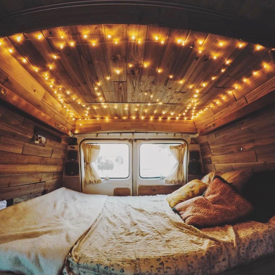 Fairy Lights In Your Van With Images