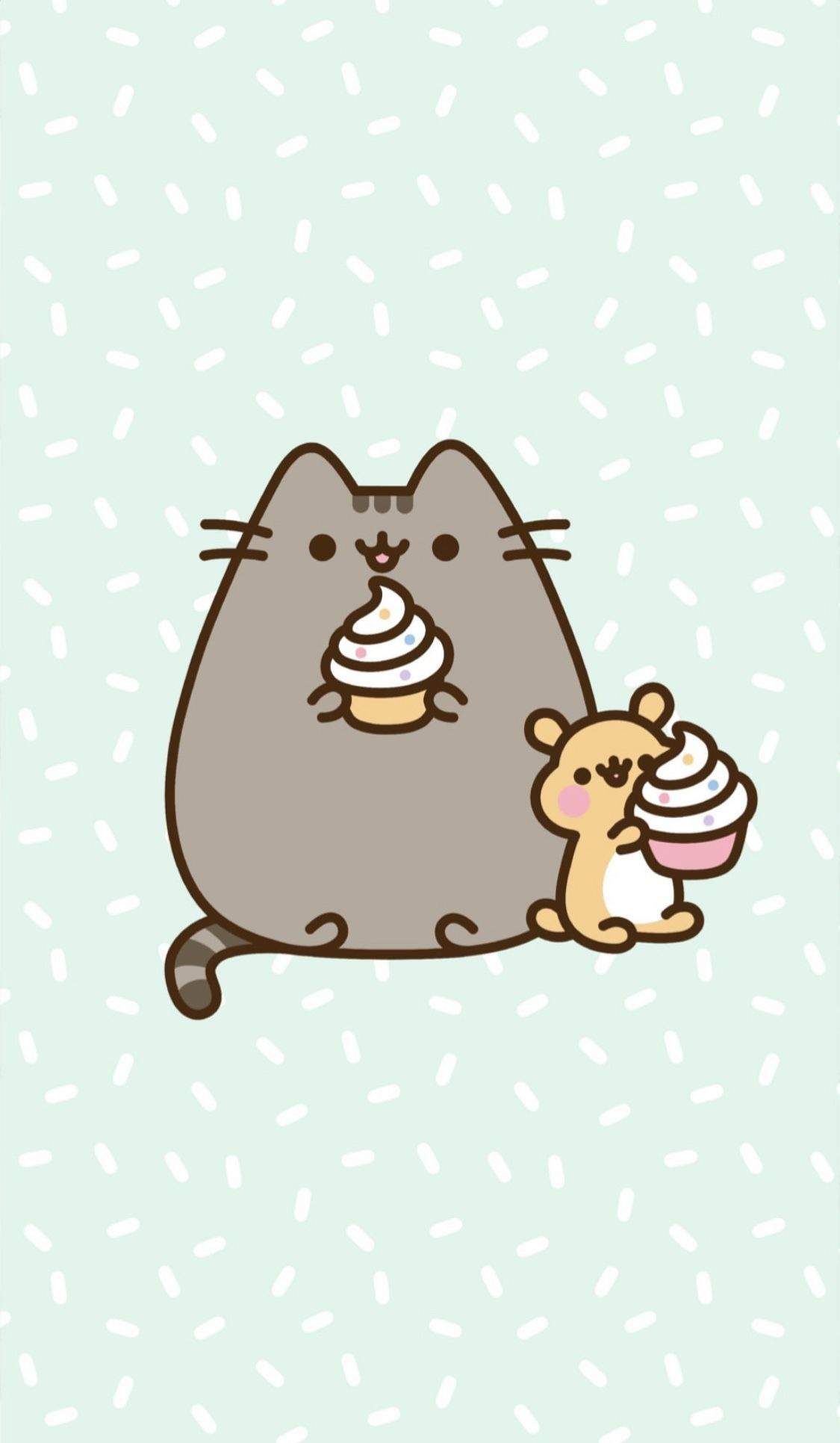 Cupcake Pusheen Wallpaper Pusheen Cute Pusheen Cat Cat Wallpaper