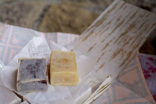 Kintsuba - Japanese sweets by naoK, via Flickr