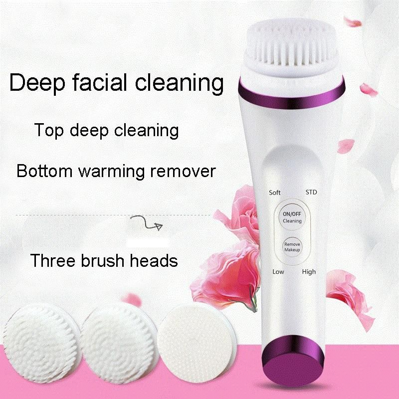 Electric Face Brush in 2020 Waterproof makeup remover