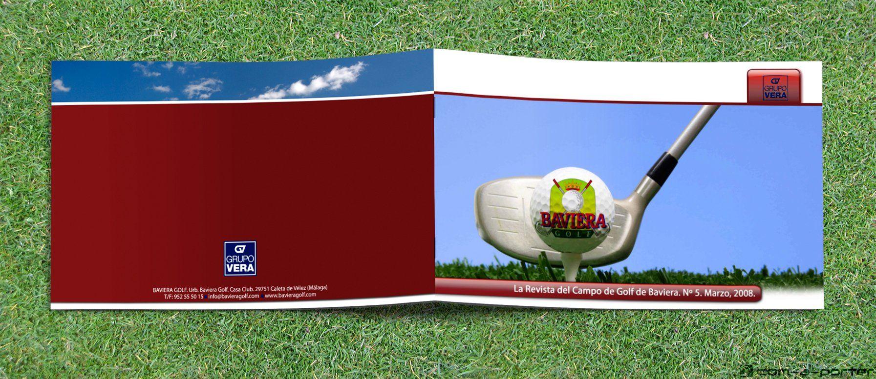 Maquetación De La Revista Del Campo De Golf De Baviera Campo De Golf Baviera Revistas