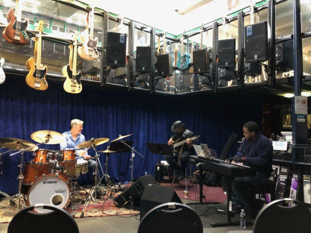 Photos David W. Hansen David W. Hansen in 2020 Jazz