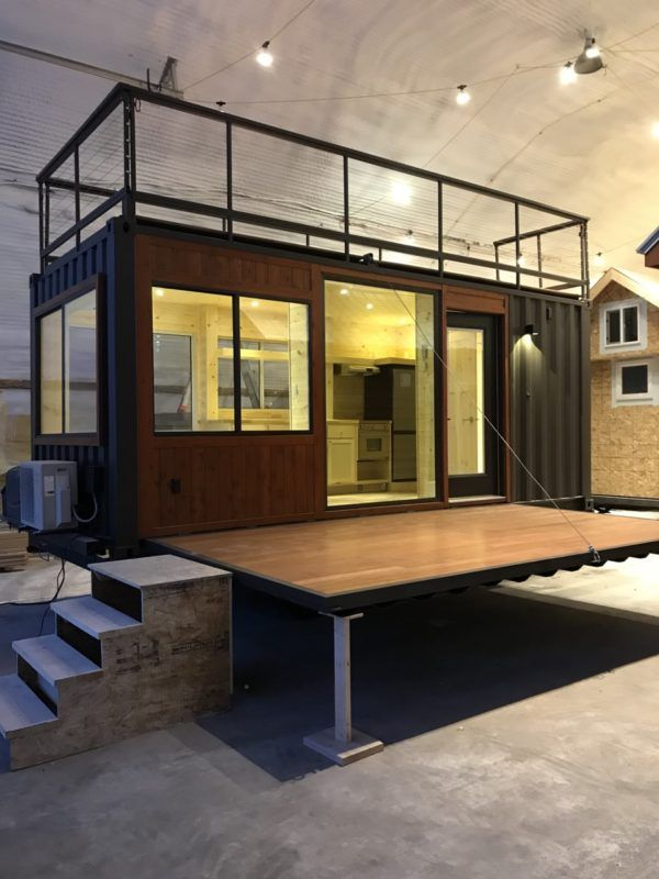 Vista C Shipping Container Tiny House from