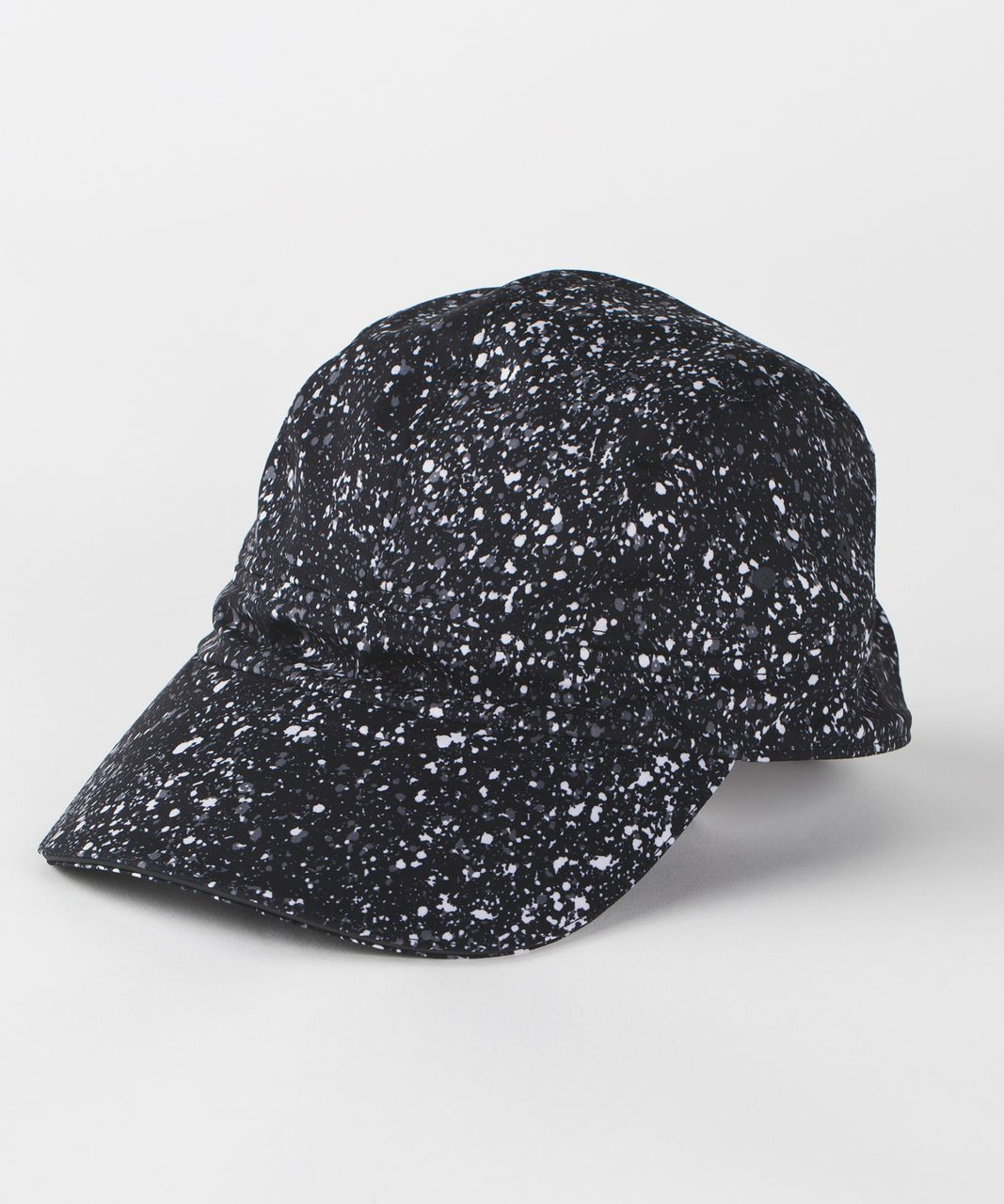 2c098a493a97 Lululemon Race To Place Run Hat 2.0 - Splatter White Black in 2019 ...