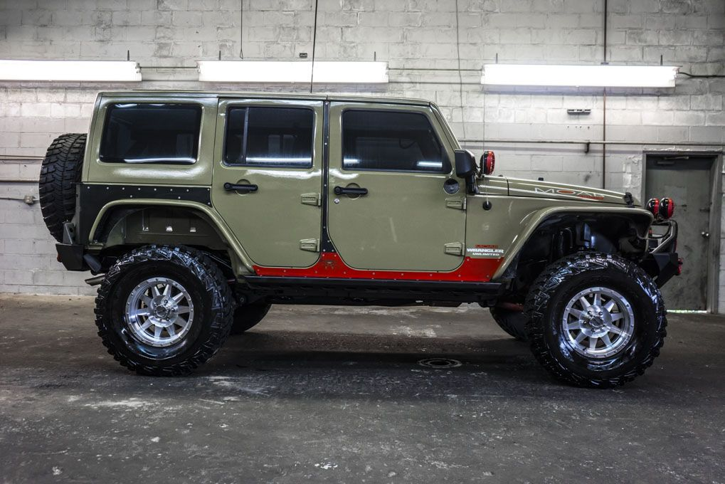 2013 Jeep Wrangler Unlimited Rubicon MOAB 4x4 For Sale