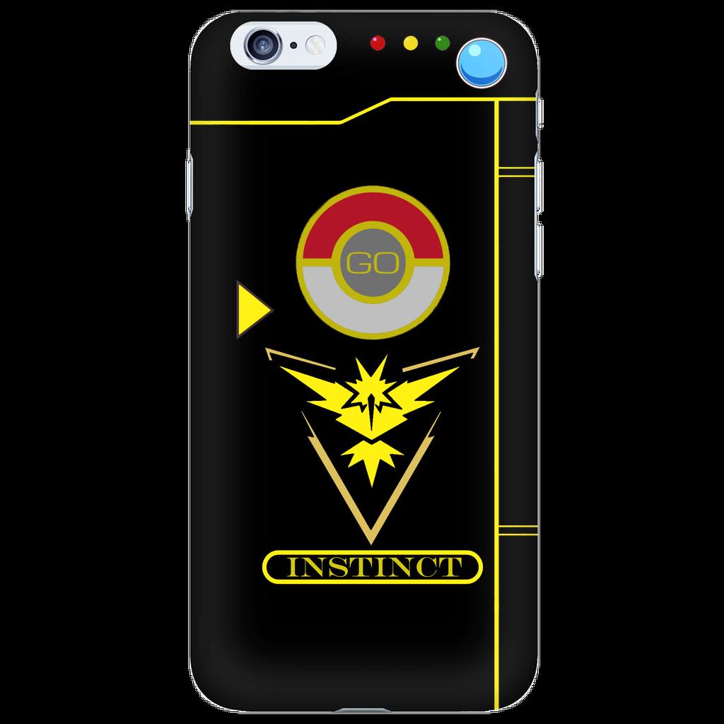 Team Instinct Pokemon Go iphone case