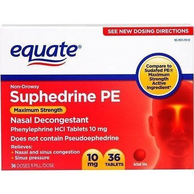 awesome Equate Suphedrine PE Maximum Strength Non-Drowsy Nasal Decongestant PE 36ct - For Sale View more at http://shipperscentral.com/wp/product/equate-suphedrine-pe-maximum-strength-non-drowsy-nasal-decongestant-pe-36ct-for-sale/