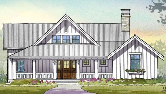 House Plan 1637-00117 - Southern Plan: 2,597 Square Feet, 3 Bedrooms, 3.5 Bathrooms