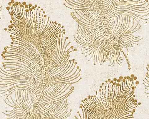 Baroque Floral Wallpaper In Gold And Ivory Design By Bd Wall Contemporary Wallpaper Designs Floral Wallpaper Modern Wallpaper Designs Contemporary gold flower wallpaper images