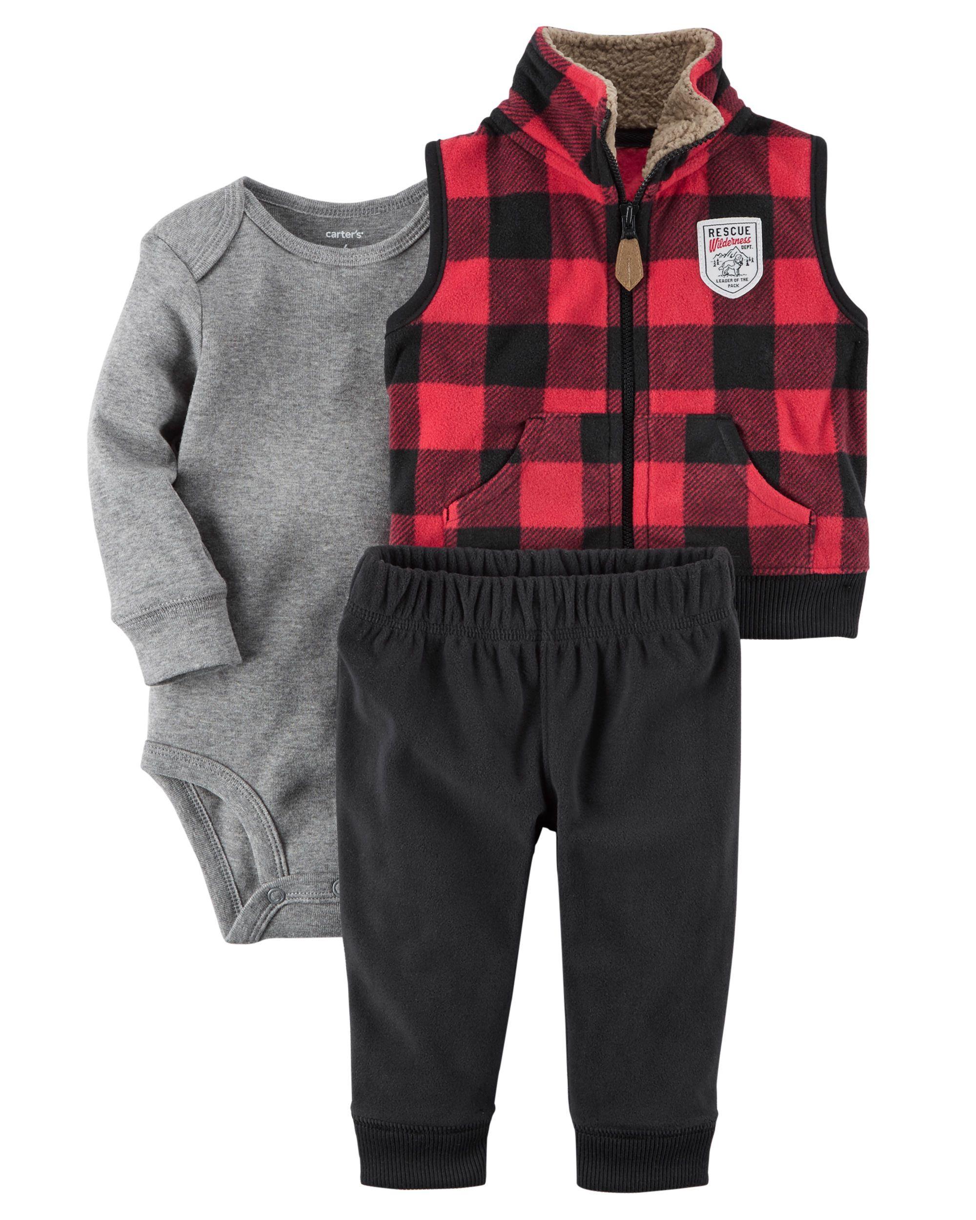 1dcc6329e2b Baby Boy 3-Piece Little Jacket Set