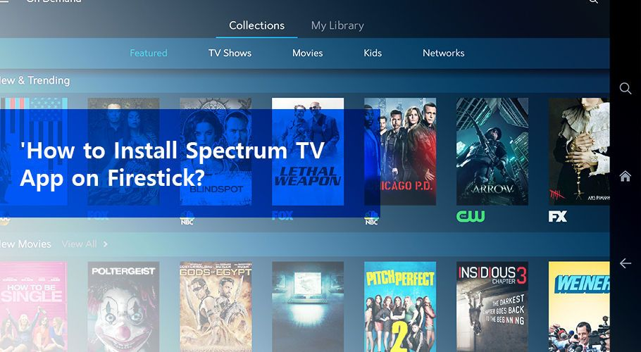 How To Install The Spectrum Tv App On Fire Tv Stick Tv App Fire Tv Fire Tv Stick